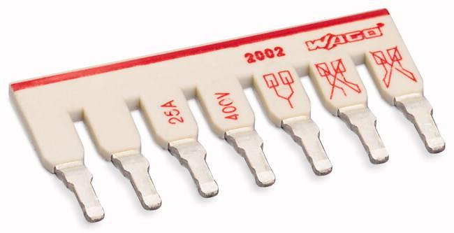 Mostík pre svorkovnice WAGO, WAGO 2002-477, 35.1 mm , 50 ks