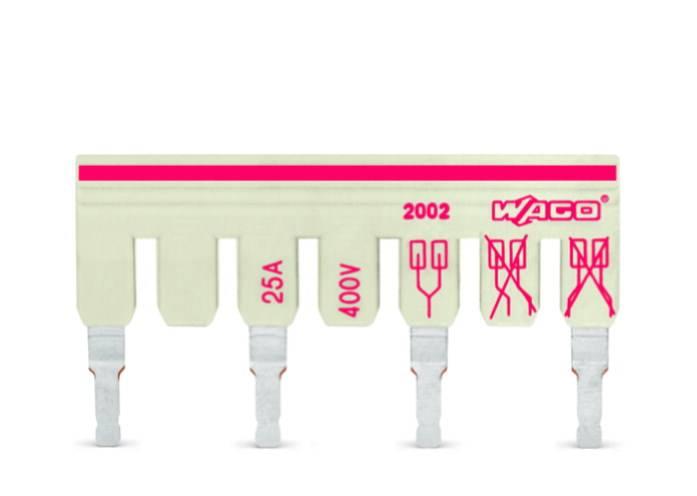 Mostík pre svorkovnice WAGO, WAGO 2002-473/011-000, 14.2 mm , 100 ks