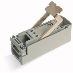 Svorkovnicový modul kulatý kabel - plochý kabel šedá, 10 ks