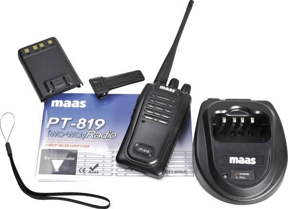 PMR rádiostanica MAAS Elektronik PT-819