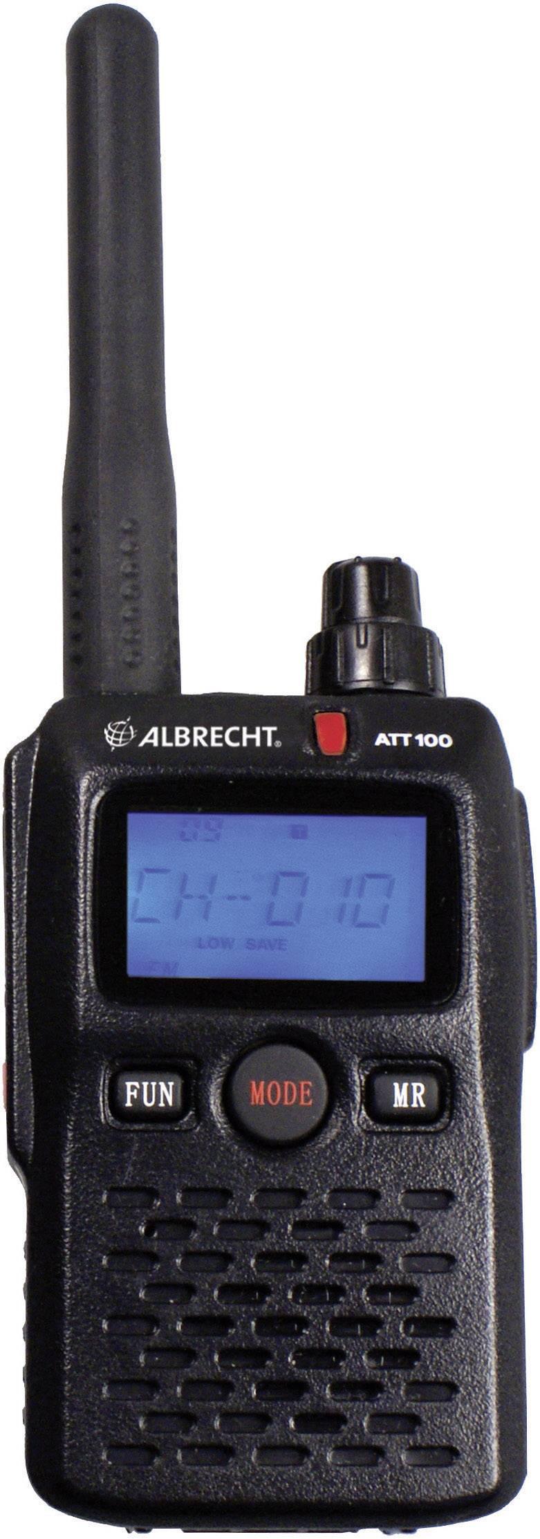 Albrecht Tourist Guide ATT 100 vysielač pre sprievodcov, 29902
