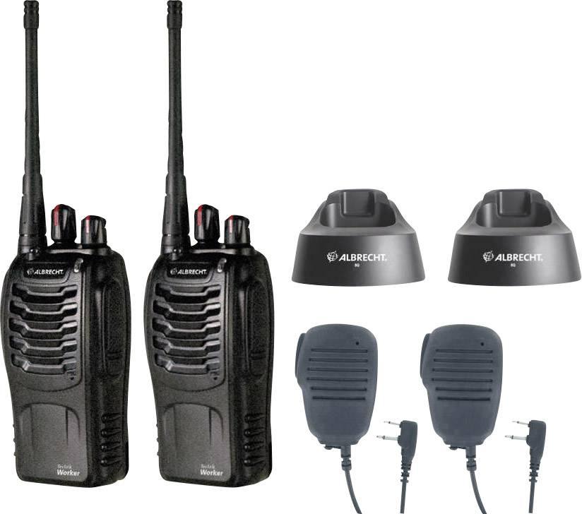 PMR radiostanice Albrecht Tectalk Worker 29830, sada 2 ks