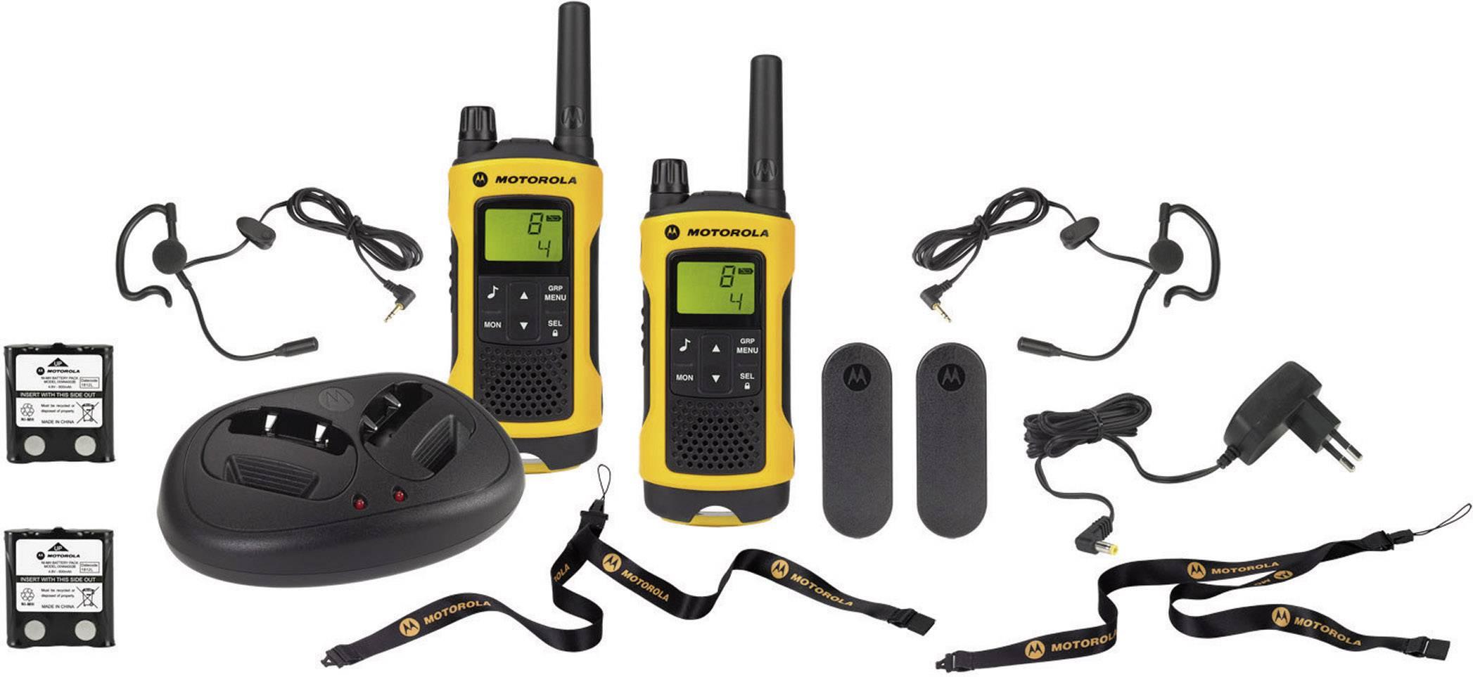 PMR vysielačky Motorola TLKR T80 Extreme, 2 ks
