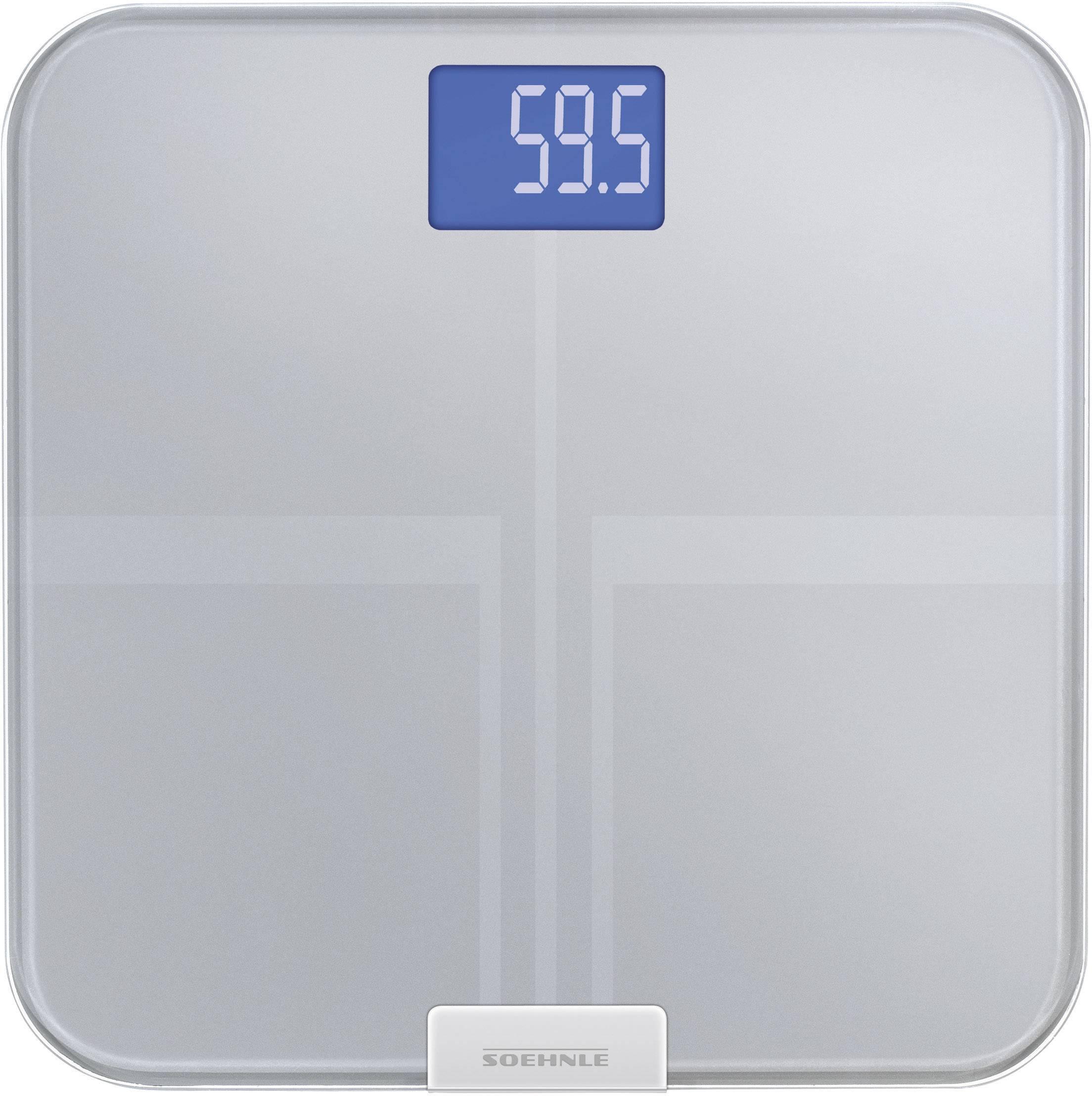 Osobní váha s analýzou tělesného tuku Soehnle Web Connect Analysis, 63340, kov
