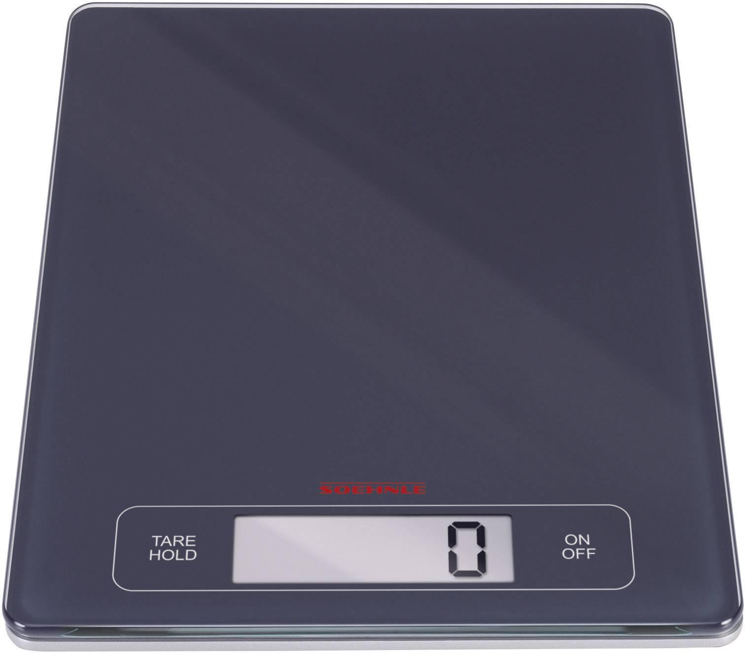 Kuchyňská váha Soehnle KWD PAGE Profi, 67080, černá