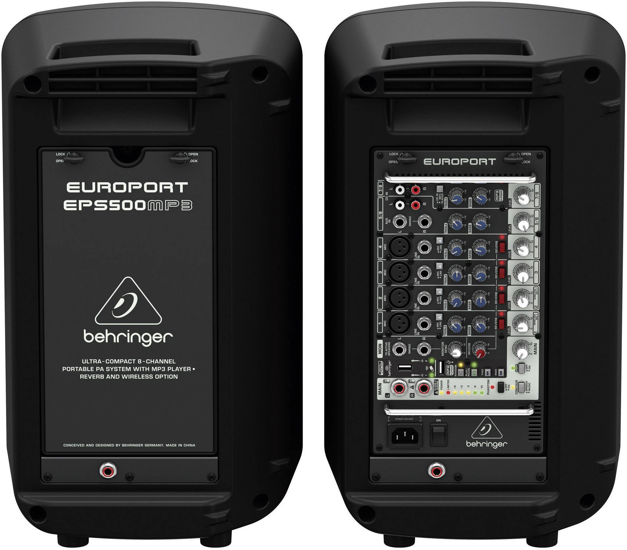 PA reproboxy Behringer EPS500MP3