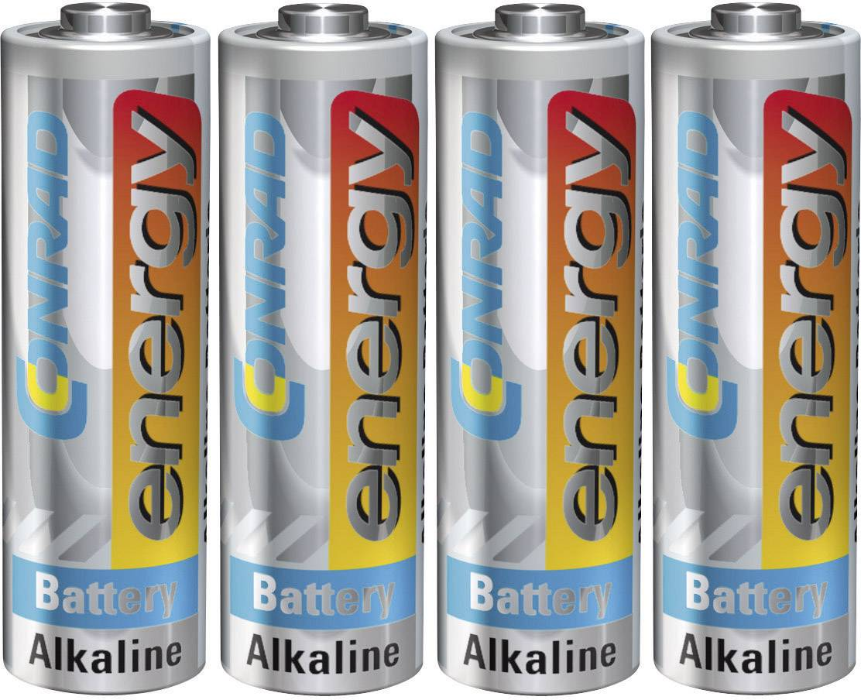 Sada 4 ks CONRAD ENERGY ALKALINE AA