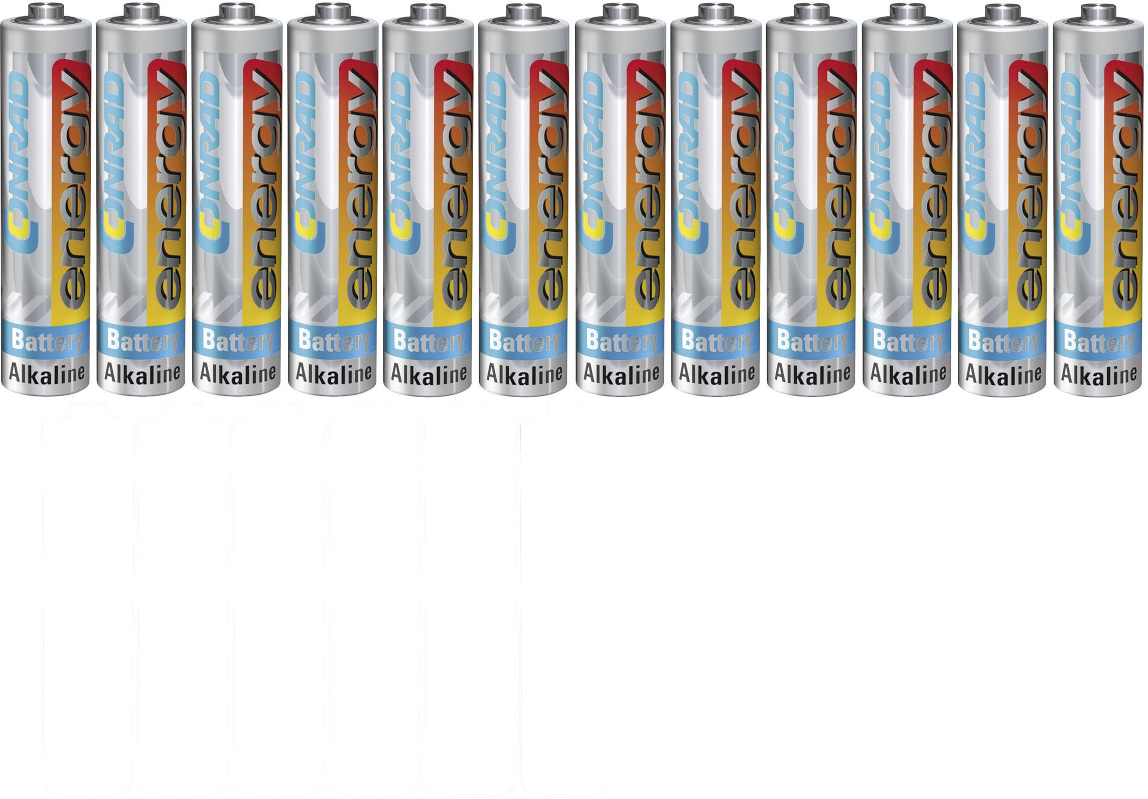 Sada 12 ks micro batérií Conrad Energy