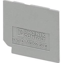 Zakončovací deska Phoenix Contact D-MBK 2,5/E (1414035)