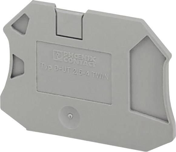 Zakončovací kryt Phoenix Contact D-UT 2,5/4-TWIN (3047141)