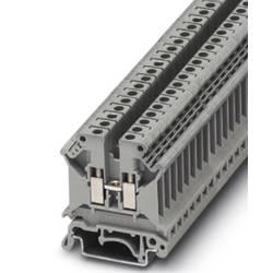 Průchozí svorka řadová Phoenix Contact UK 5 N-PHR (3026560), šroubovací, 6,2 mm, šedá