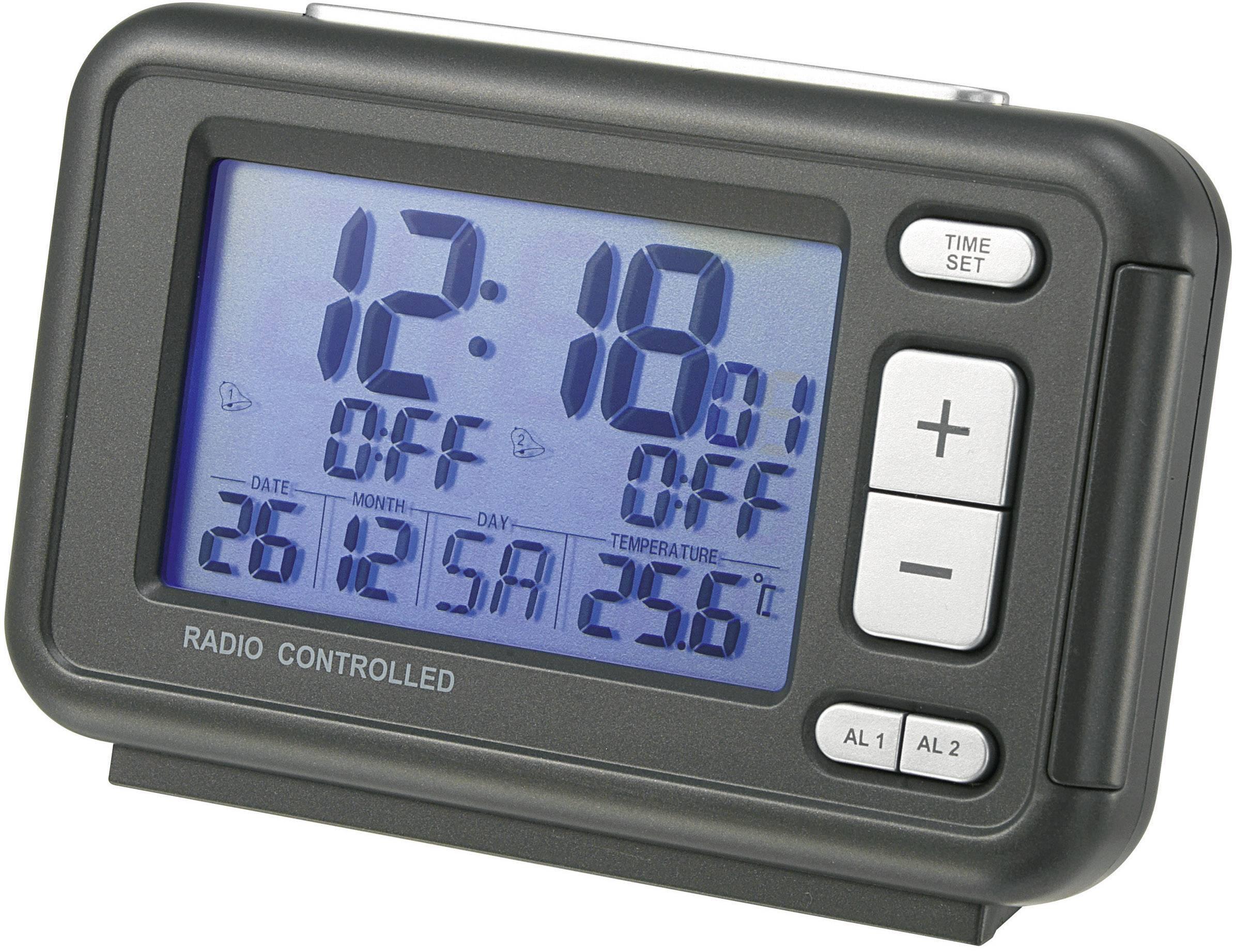 DCF budík s velkým displejem RC367