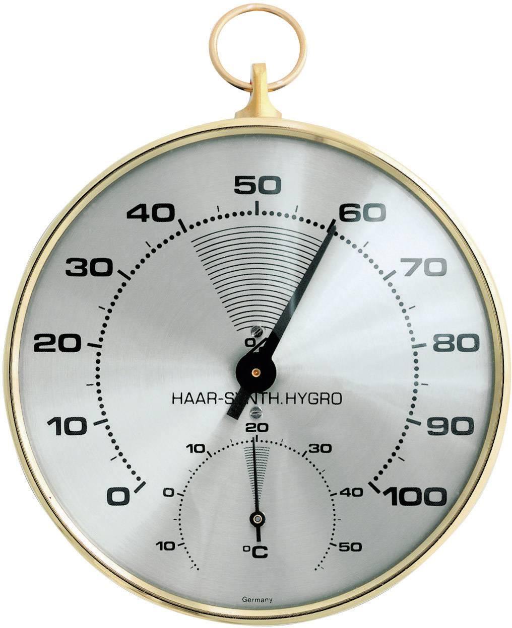 Teploměr a vlhkoměr TFA 45.2007, kov, zlatá