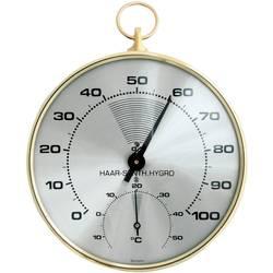Teploměr a vlhkoměr TFA Dostmann 45.2007, kov, zlatá