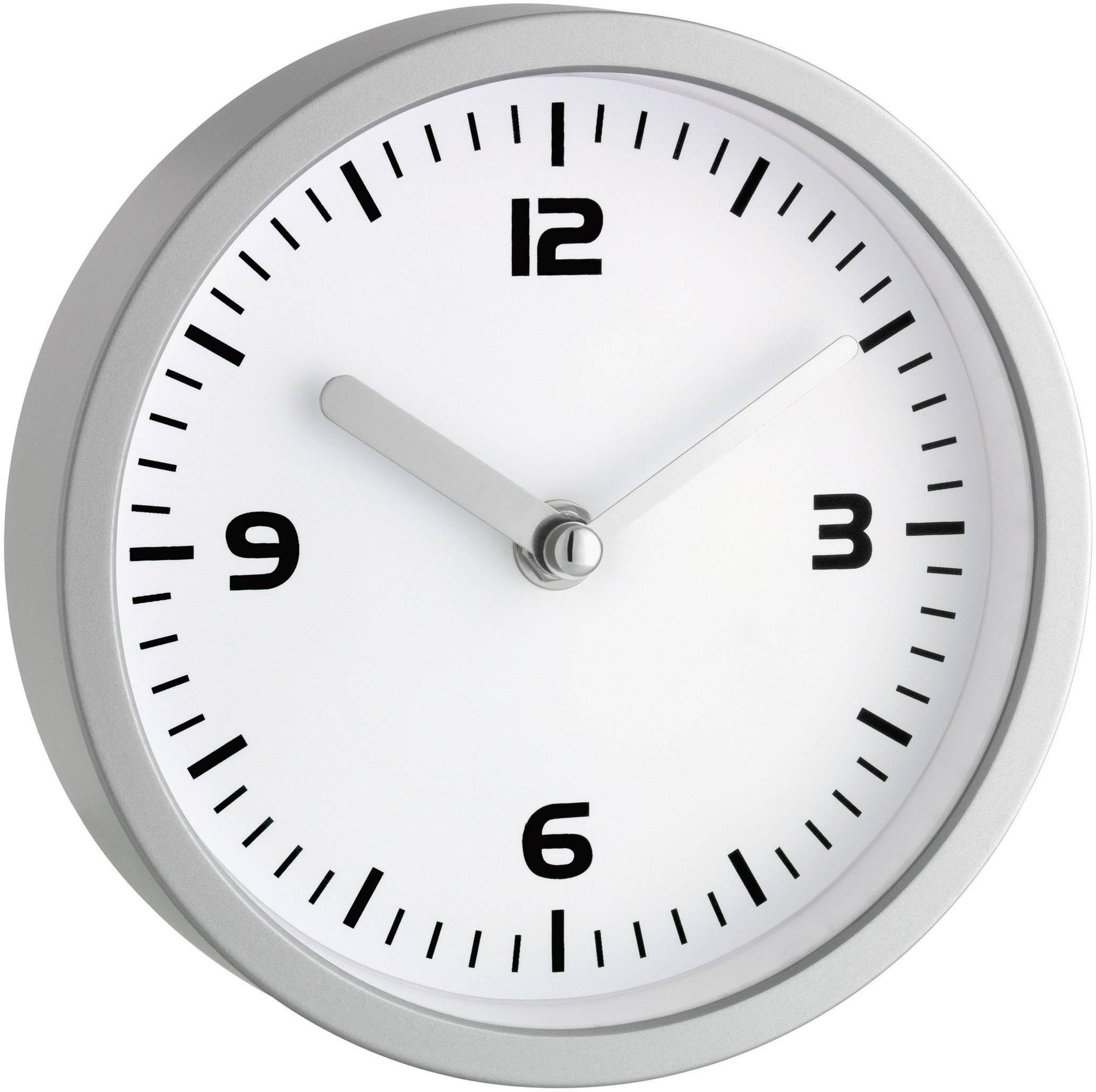 Analógové nástenné hodiny do kúpeľne TFA, 16 cm