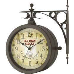 Venkovní/vnitřní nástěnné hodiny s teploměrem TFA Old Town