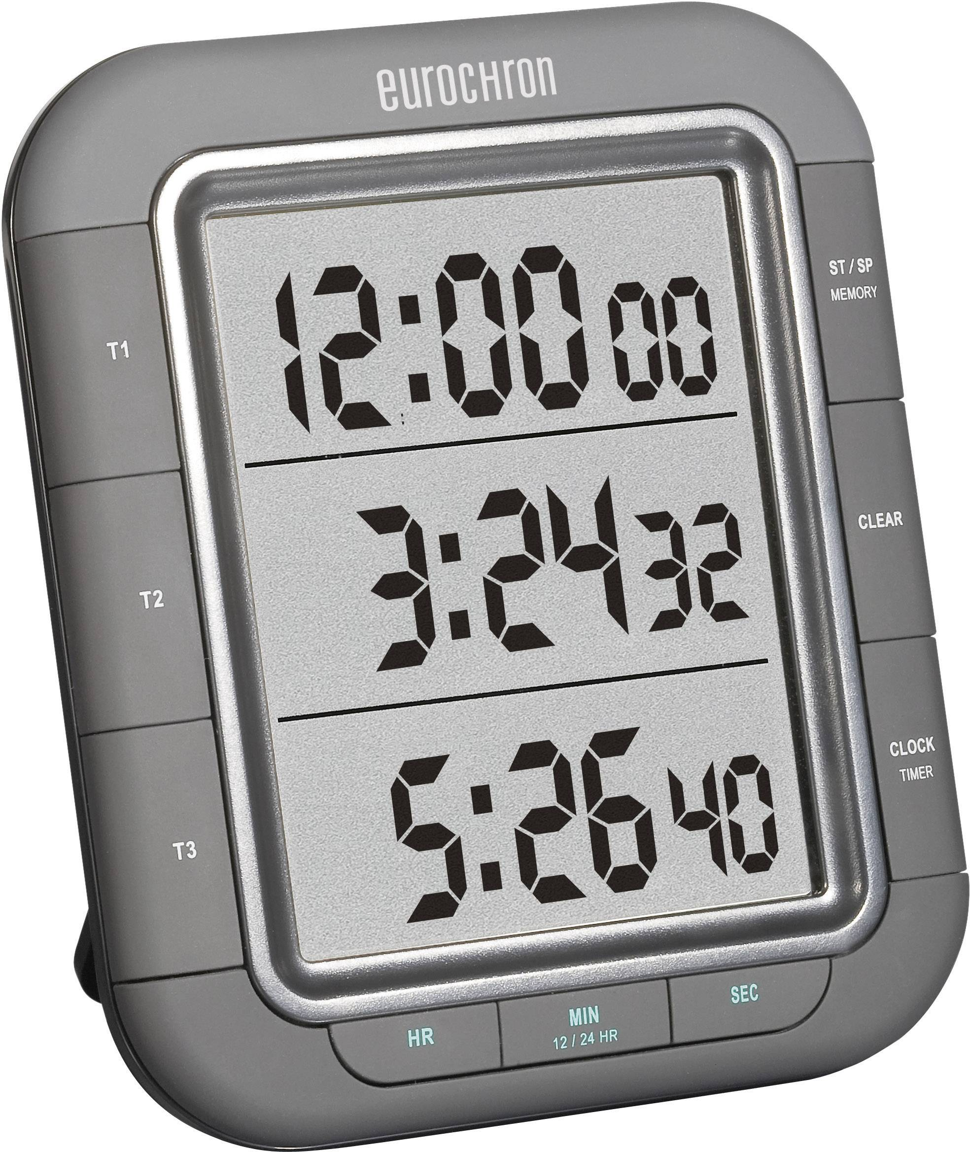 Digitálny časovač Eurochron EDT 9000, 3-zónový
