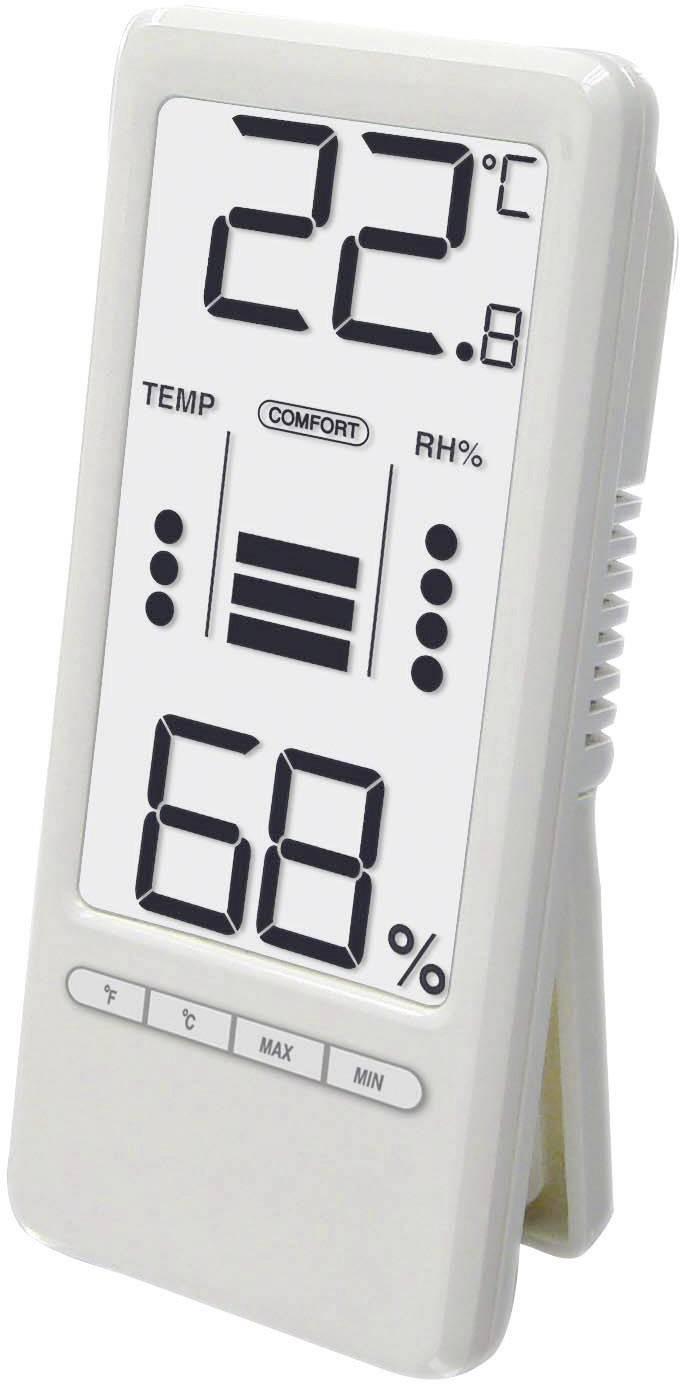 Teplomer/vlhkomer s indexom komfortu WS 9119