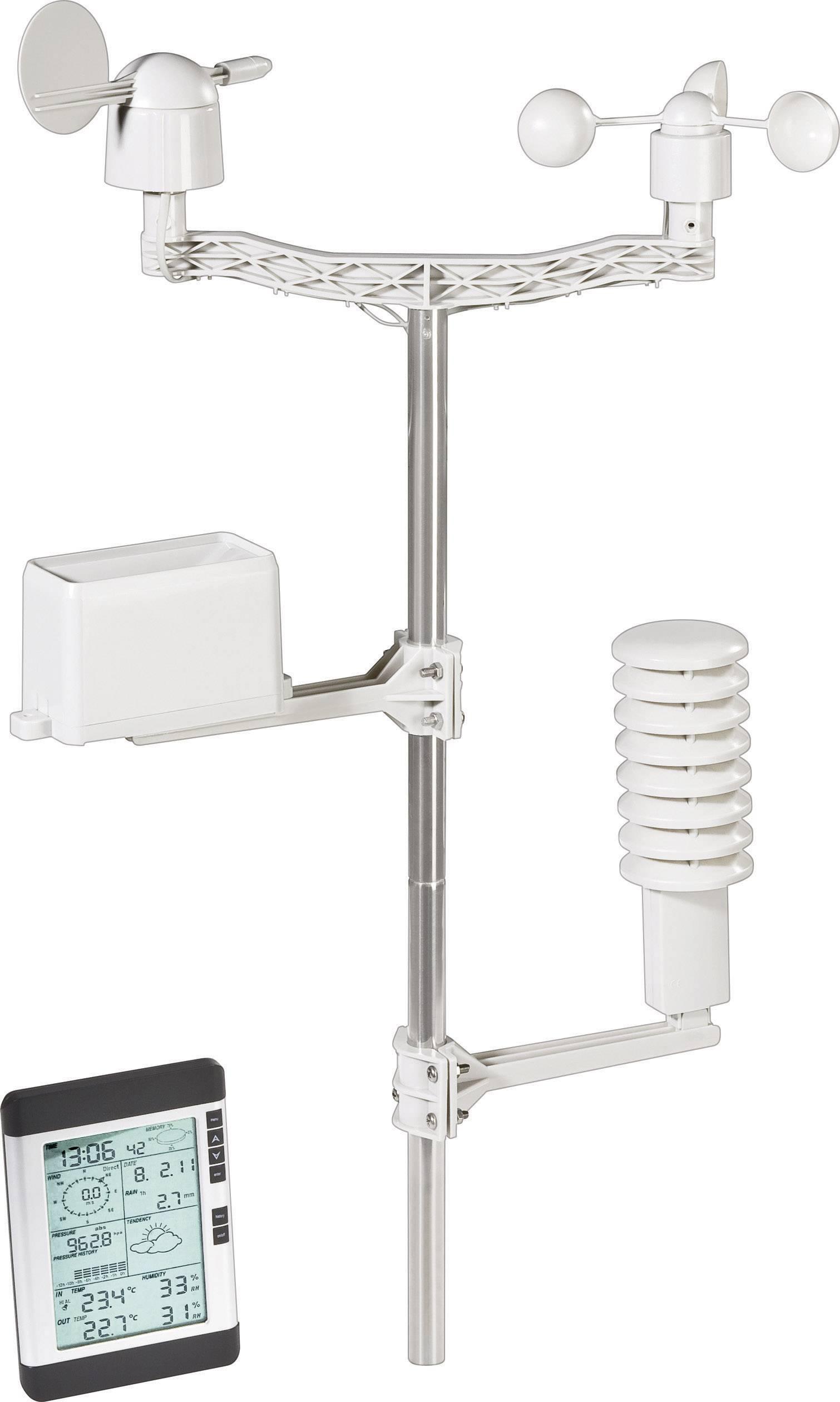 Digitálna bezdrôtová meteostanica Professional USB WS-0101, Max. dosah 100 m