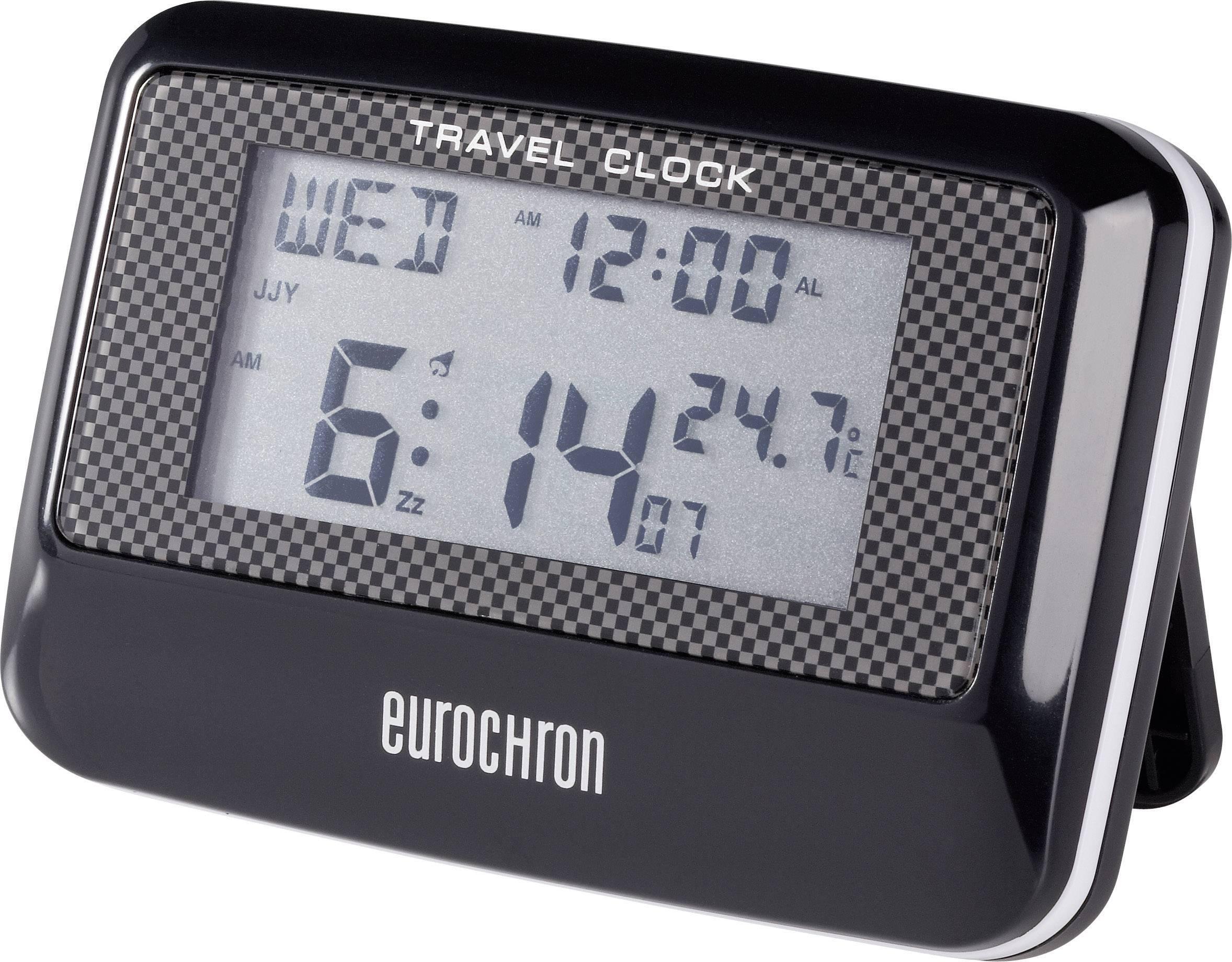 Cestovný DCF budík Eurochron Multiband EFW 200 T