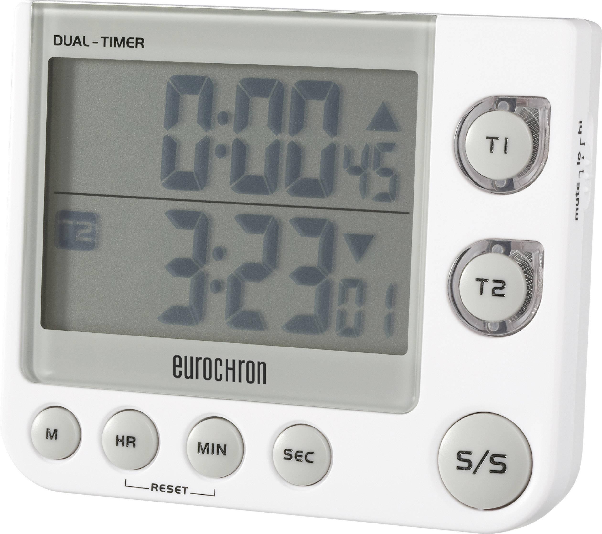 Digitálny časovač Eurochron EDT 4002, 2-zónový