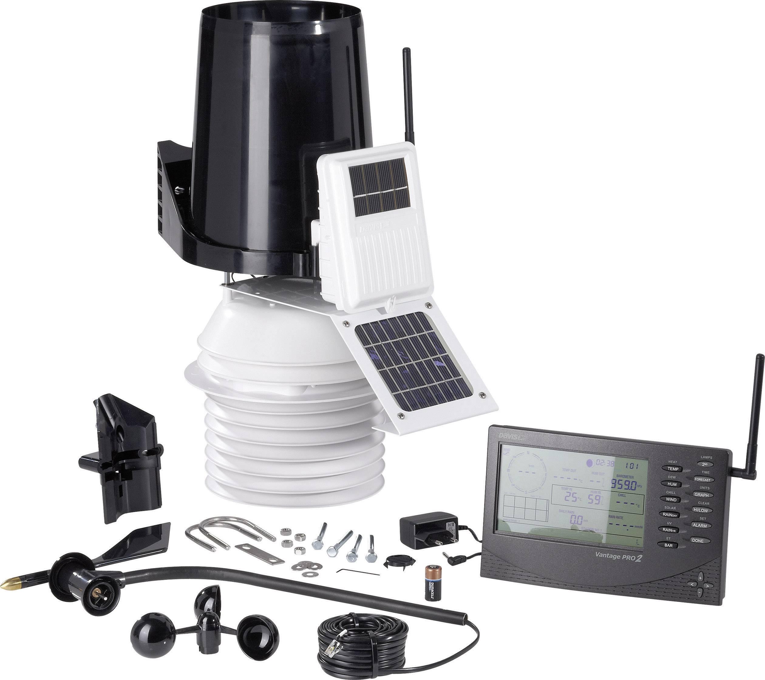 Bezdrôtová meteostanica Davis Vantage Pro2 aktiv