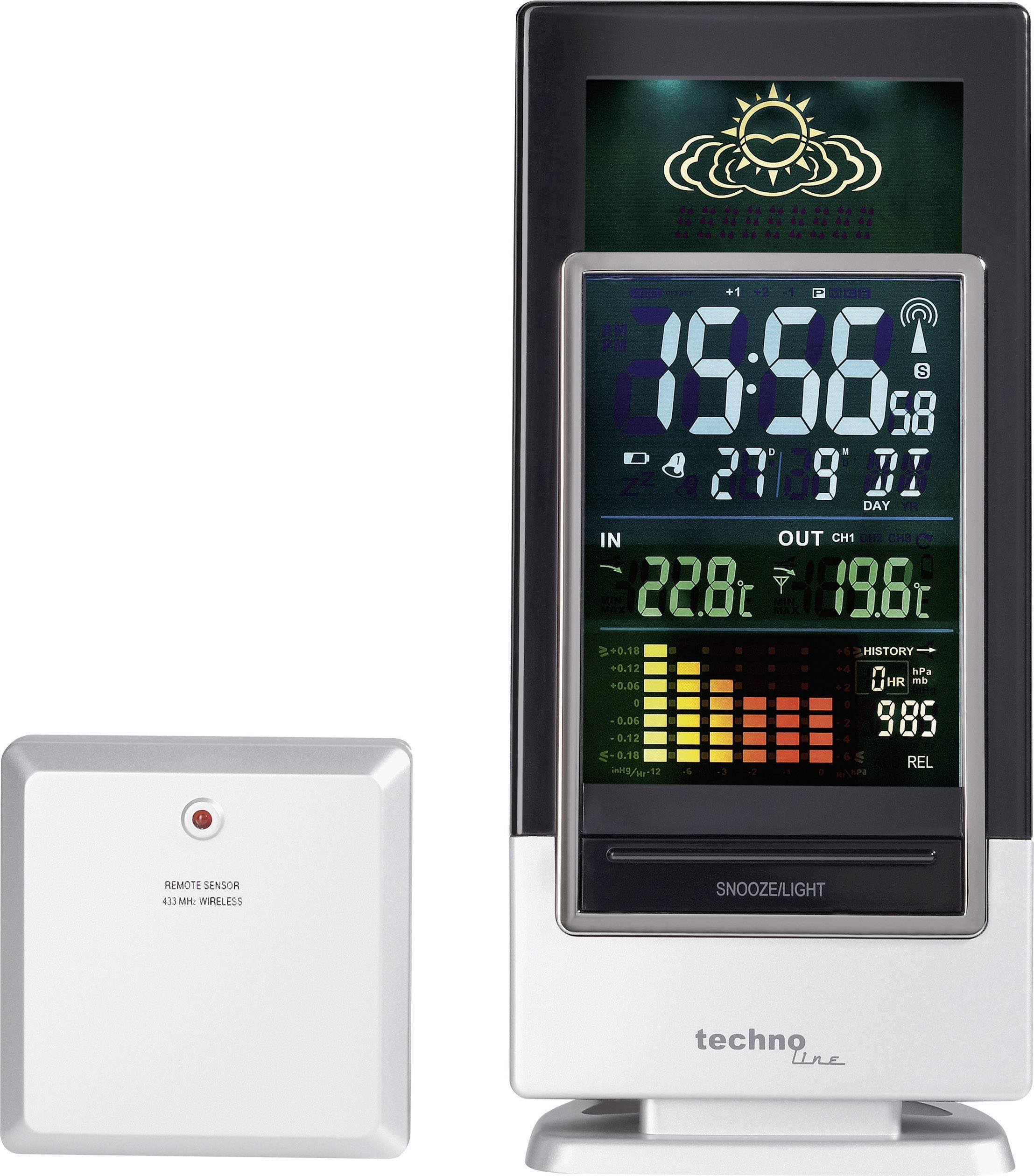Bezdrôtová meteostanica Techno Line WS 6502