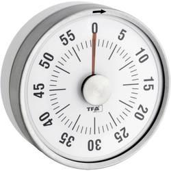 Kuchyňská minutka Puck TFA, 38-1028-02, 79 x 33 mm, bílá