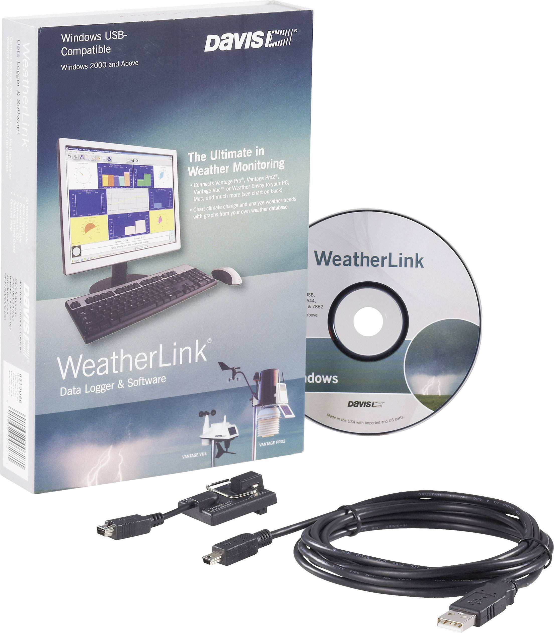 Software Davis Instruments Weather Link, USB