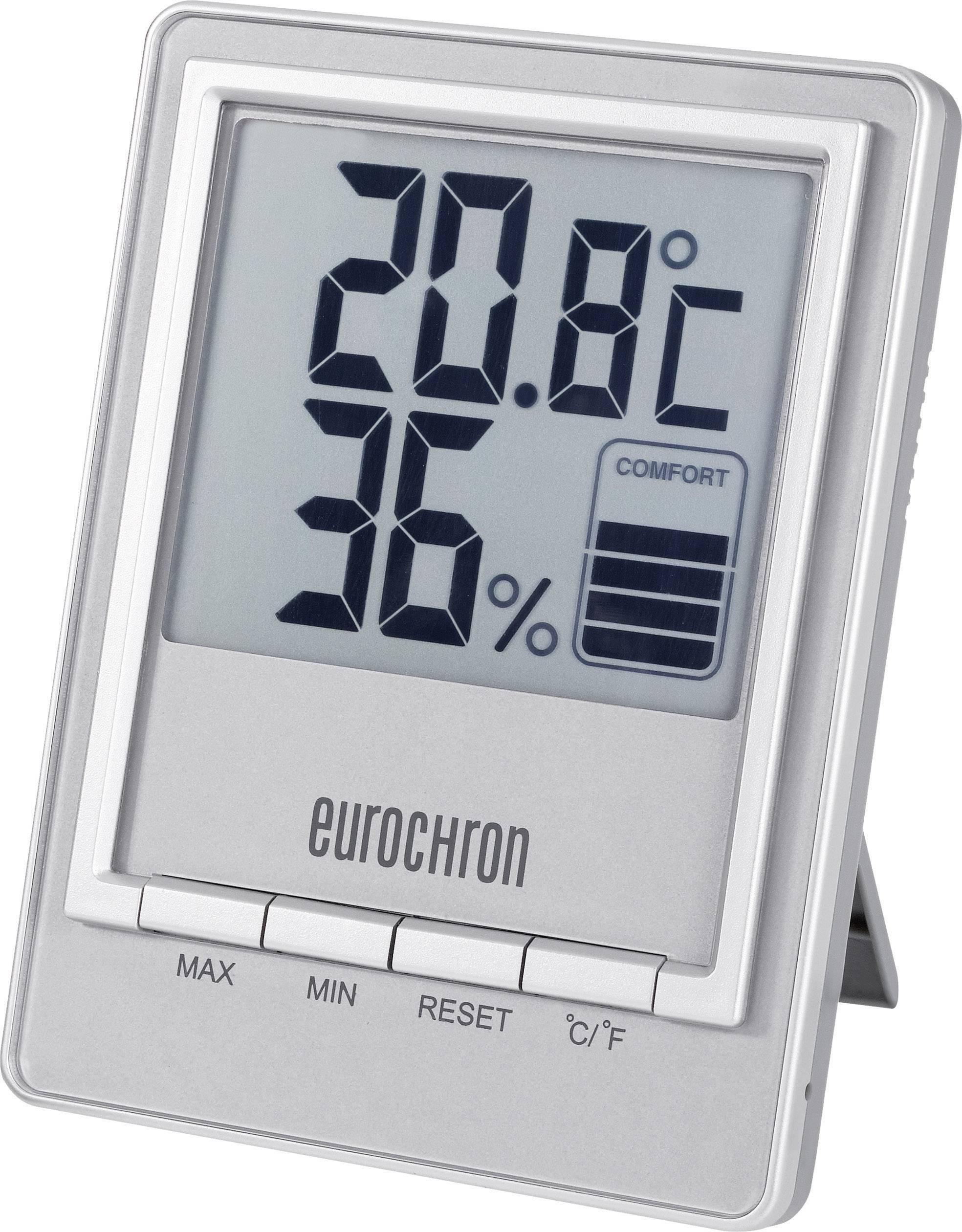 Digitálny teplomer s vlhkomerom Eurochron ETH 8001