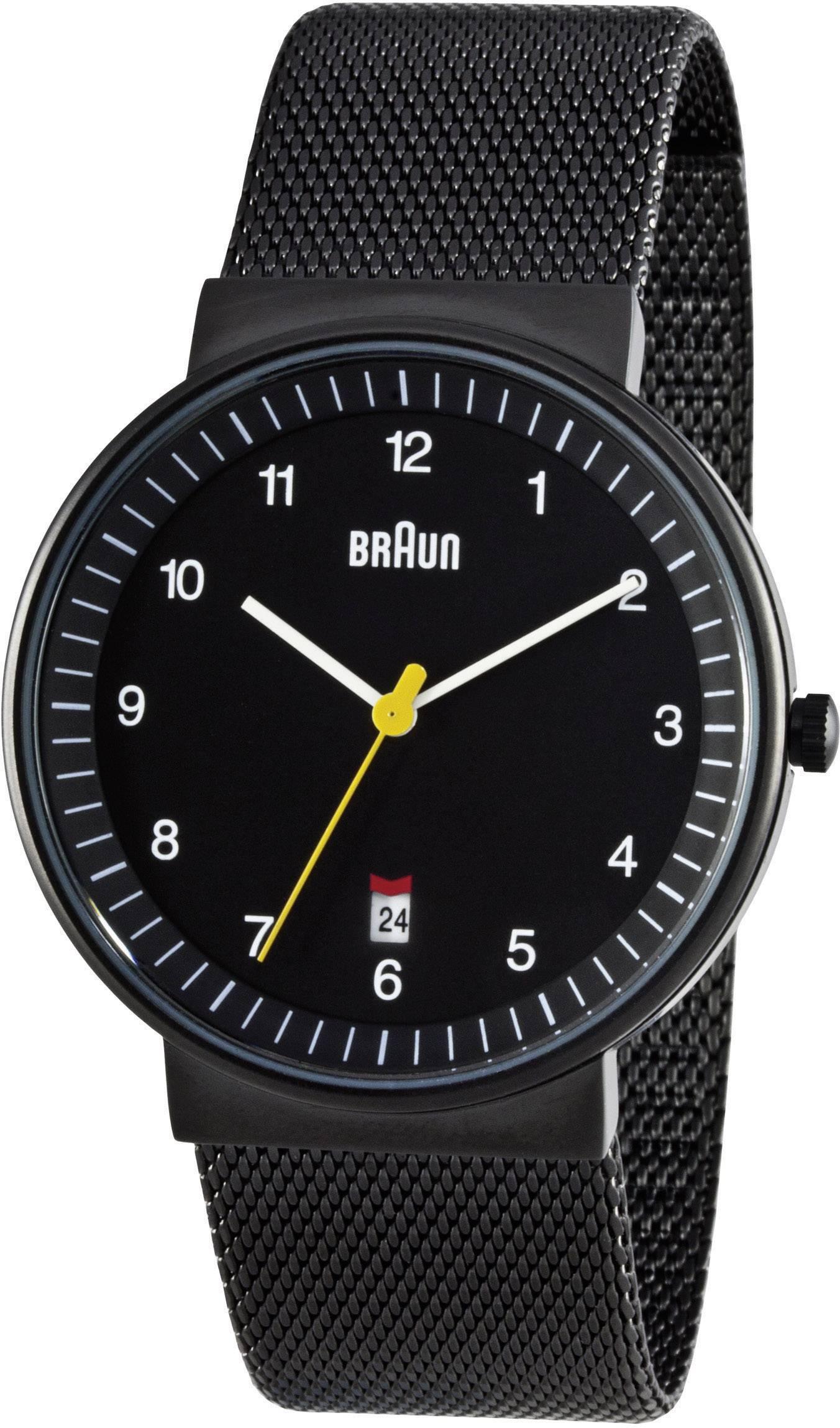 Náramkové hodinky Braun BN0032BKBKMHG