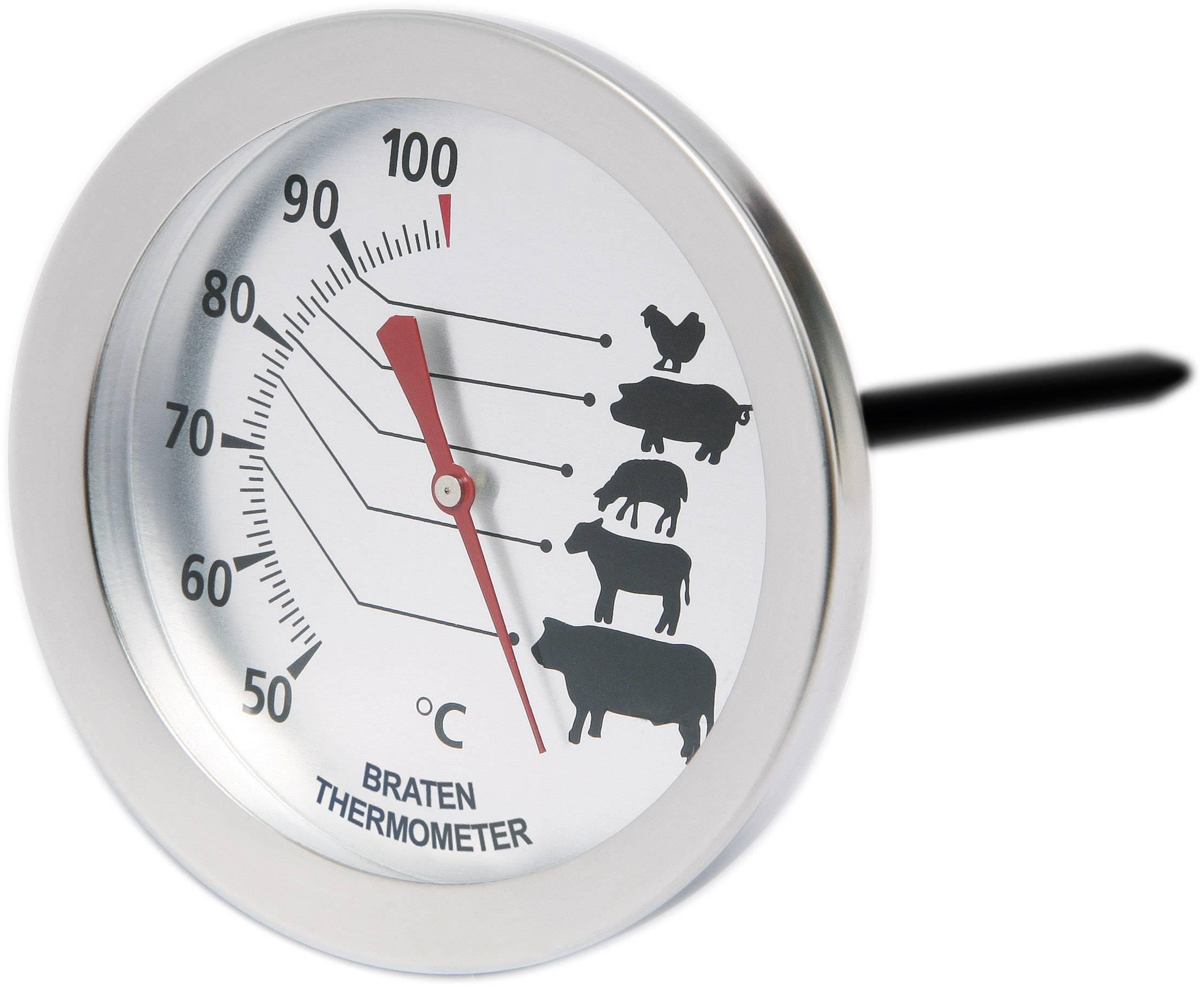 Analógový teplomer na meranie teploty mäsa pri pečení, Sunartis T 720C