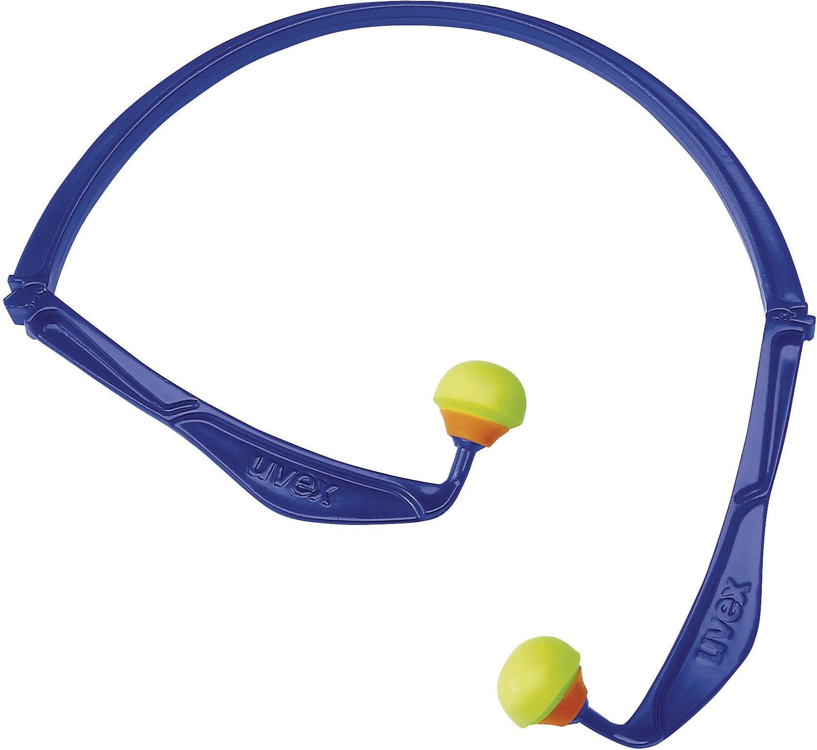 Špunty do uší na plastovém oblouku Uvex X-FOLD 2125344, 23 dB, 1 ks