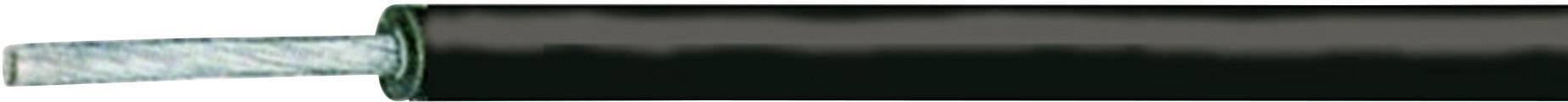 Licna XBK Kabel SiL-SiAF, 1x 1 mm², silikon, Ø 1,30 mm, 1 m, černá