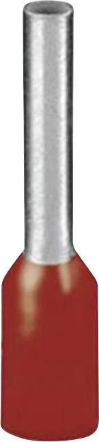 Dutinka Phoenix Contact 1208982, 1 mm², 8 mm, čiastočne izolované, červená, 500 ks