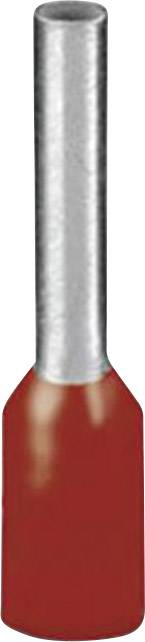 Dutinka Phoenix Contact 3200674, 1 mm², 12 mm, čiastočne izolované, červená, 100 ks