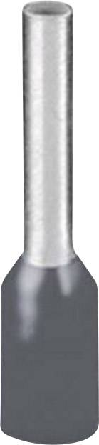 Dutinka Phoenix Contact 1208979, 0.75 mm², 8 mm, částečná izolace, šedá, 500 ks
