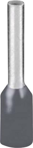 Dutinka Phoenix Contact 1208979, 0.75 mm², 8 mm, čiastočne izolované, sivá, 500 ks