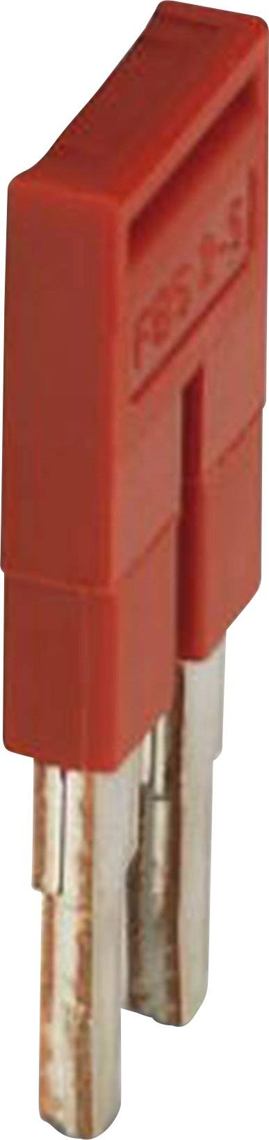 Zásuvný můstek Phoenix Contact FBS 2-5 (3030161), červená