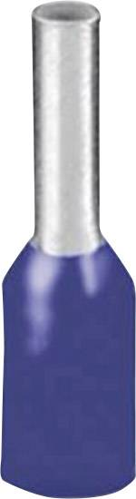 Dutinka Phoenix Contact 3200580, 2.50 mm², 18 mm, čiastočne izolované, modrá, 100 ks