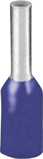 Dutinka Phoenix Contact 3203040, 0.25 mm², 6 mm, čiastočne izolované, modrá, 100 ks
