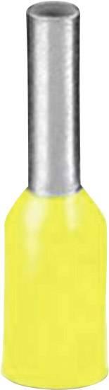 Dutinka Phoenix Contact 3200603, 6 mm², 18 mm, čiastočne izolované, žltá, 100 ks