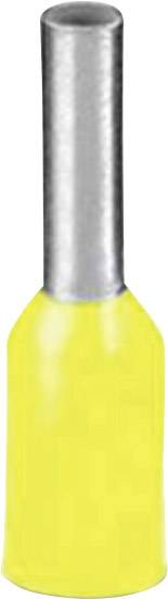 Dutinka Phoenix Contact 3201097, 1 mm², 8 mm, čiastočne izolované, žltá, 100 ks