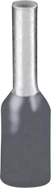 Dutinka Phoenix Contact 3203163, 0.75 mm², 10 mm, čiastočne izolované, sivá, 100 ks