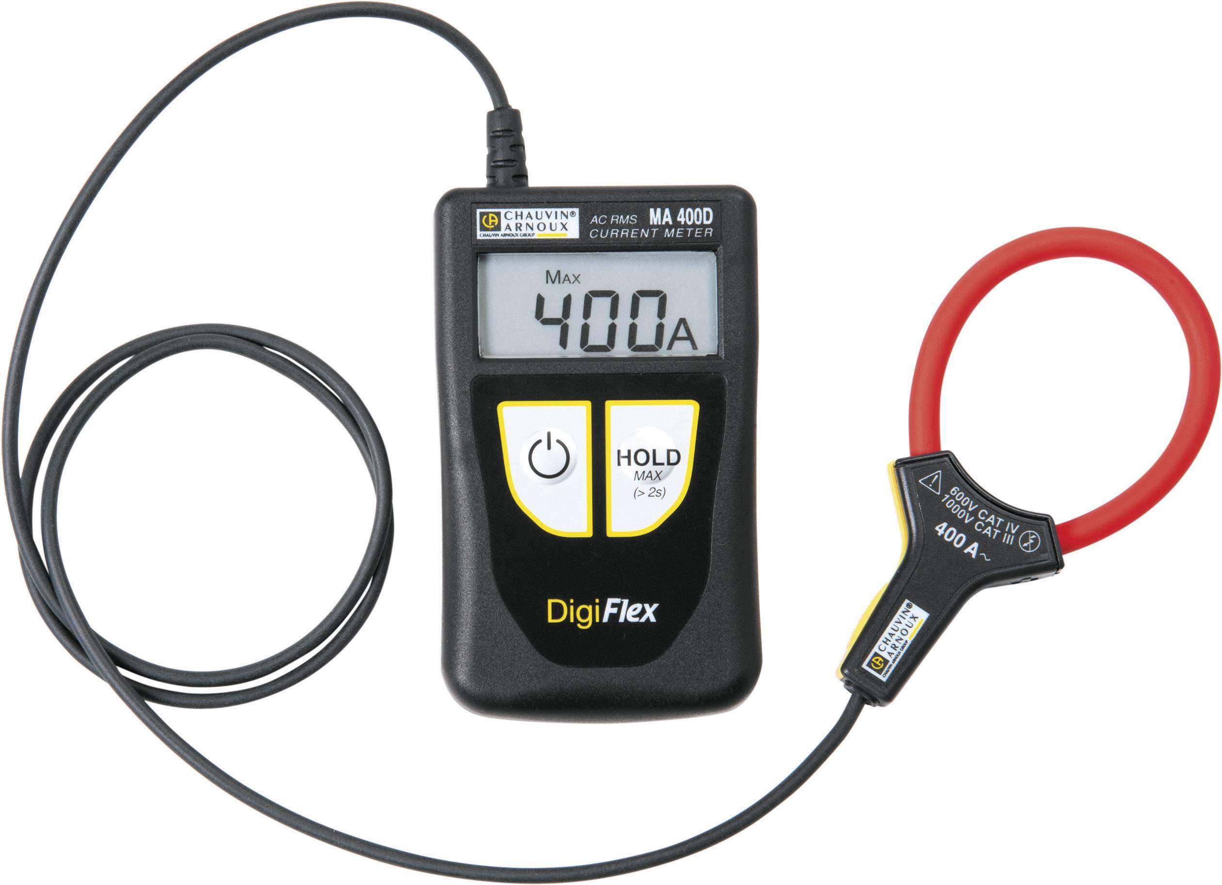 Ampérmetr s ohebnou proudovou sondou Chauvin Arnoux DigiFlex MA400D-170, AC