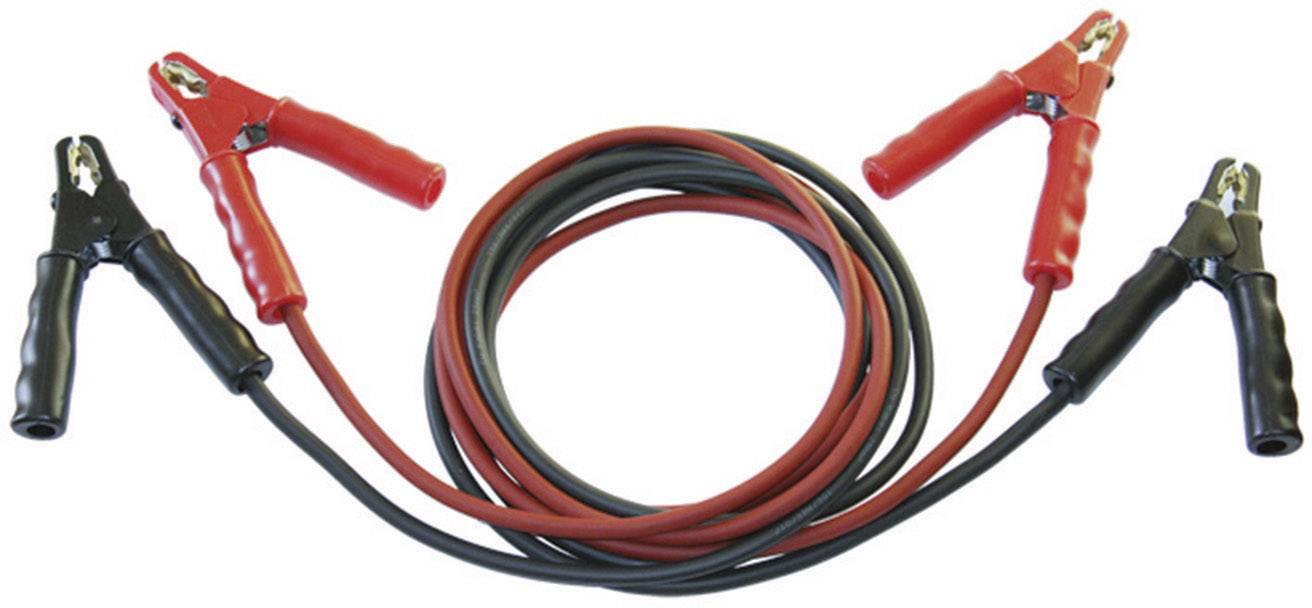 Startovací kabely SET® SK25-ST s kovovými kleštěmi, bez ochranného obvodu, 25 mm², měď, 3.5 m