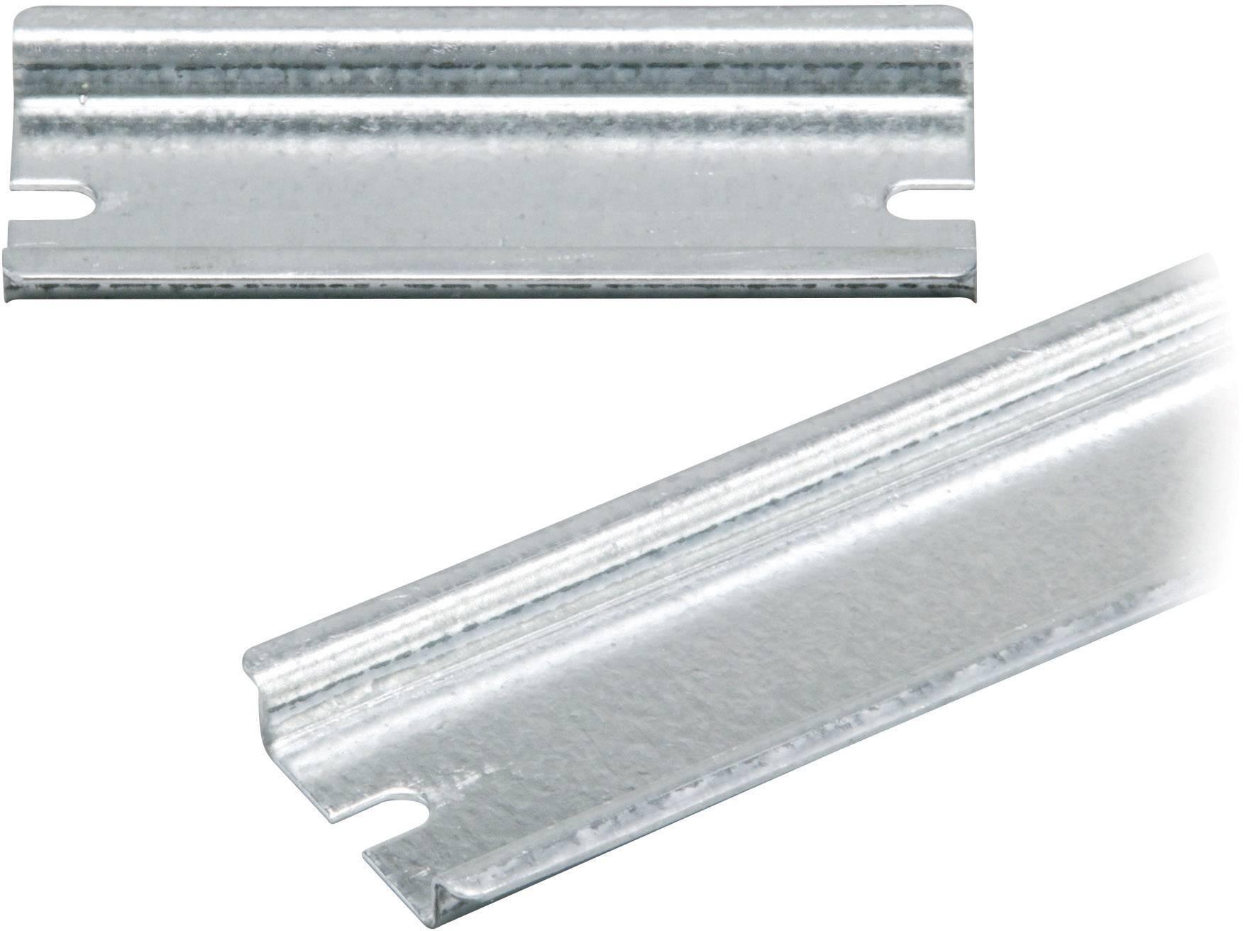 Koľajnica Fibox EK EKV 22, 235 mm, oceľový plech, 1 ks