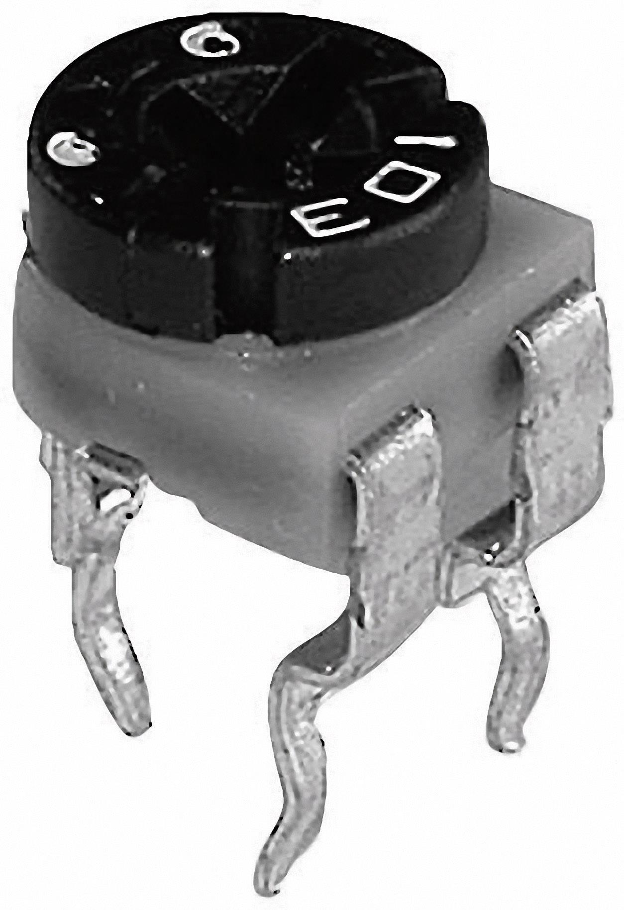 Uhlíkový trimer TT Electronics AB 601010, lineárny, 100 Ohm, 0.1 W, 1 ks