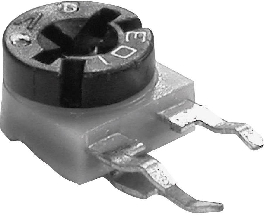 Uhlíkový trimer TT Electronics AB 611010, lineárny, 100 Ohm, 0.1 W, 1 ks