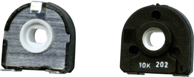 Uhlíkový trimer TT Electronics AB 1541053, lineárny, 1 MOhm, 0.25 W, 1 ks